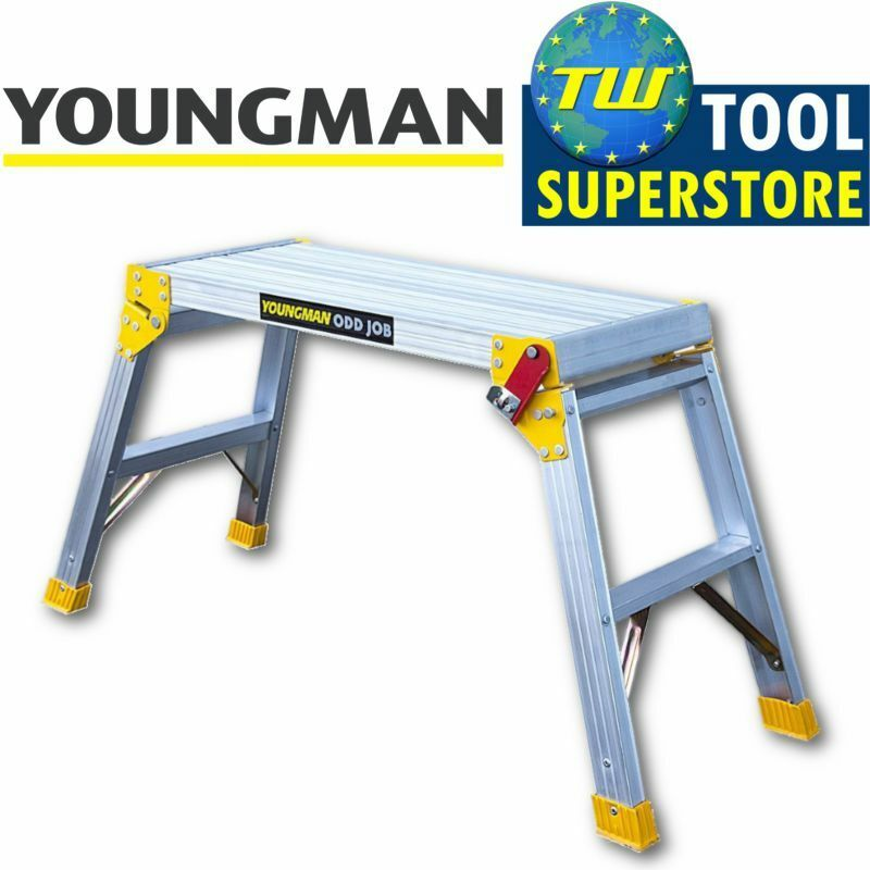 Youngman Odd Job Folding Platform Bench Hop Step Up