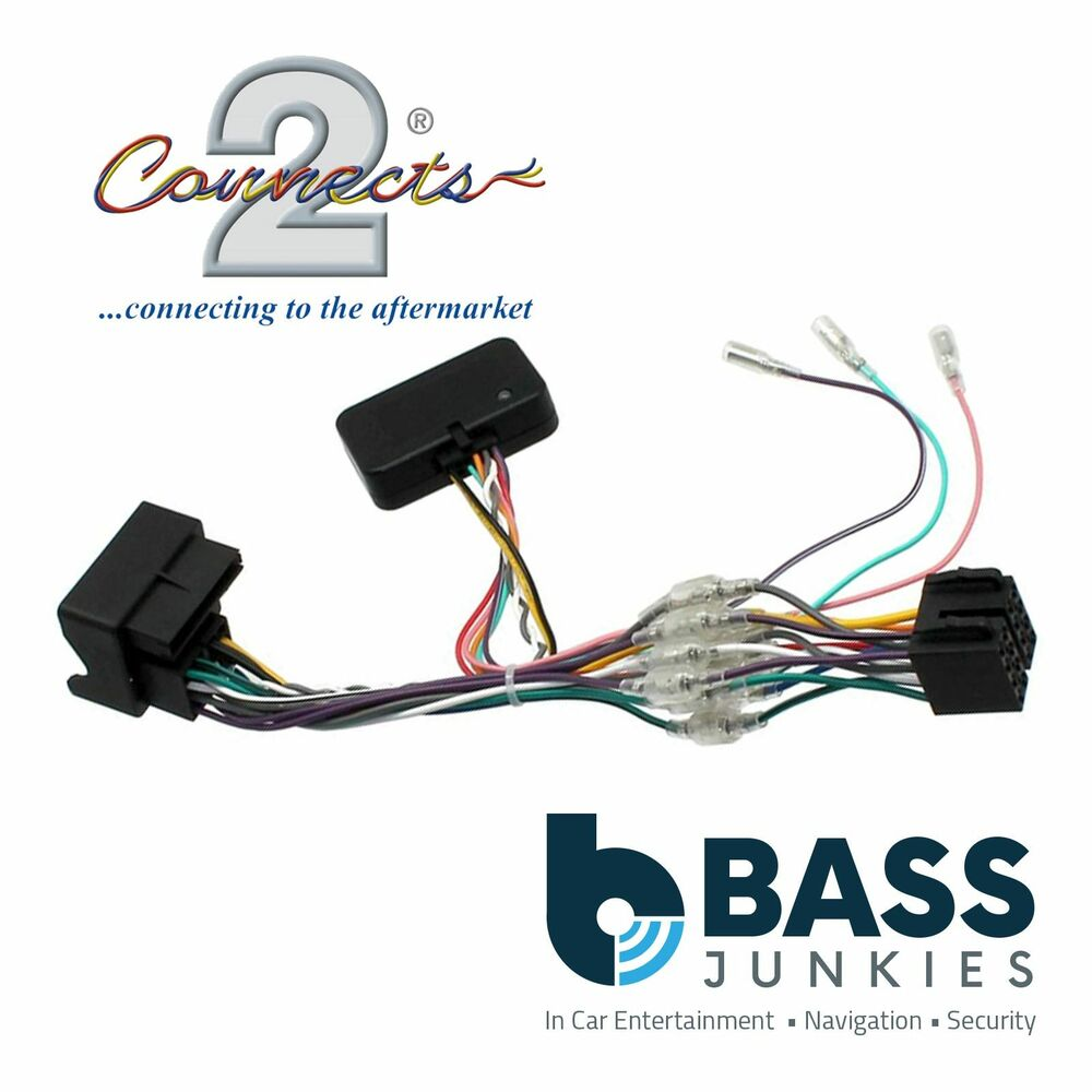 Skoda Fabia 2007 2010 Car Stereo Quadlock Wiring Harness Ignition Wire Bus Adapter Lead 3781274713540 Ebay
