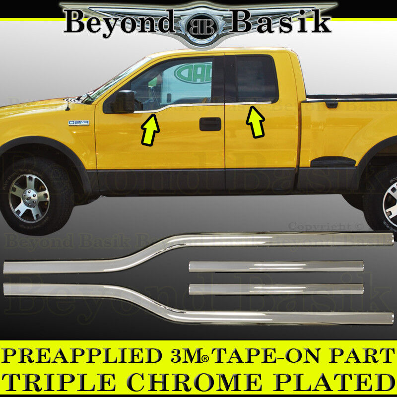2004-2014 Ford F150 F-150 4Dr Extended Super Cab Chrome