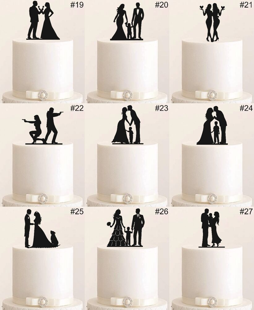 tortenfigur cake topper wedding hochzeit etagere acryl tortenstecker figur torte ebay. Black Bedroom Furniture Sets. Home Design Ideas