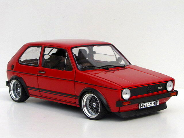 vw golf 1 gti 15 zoll bbs rs alufelgen 1 18 tuning ebay. Black Bedroom Furniture Sets. Home Design Ideas