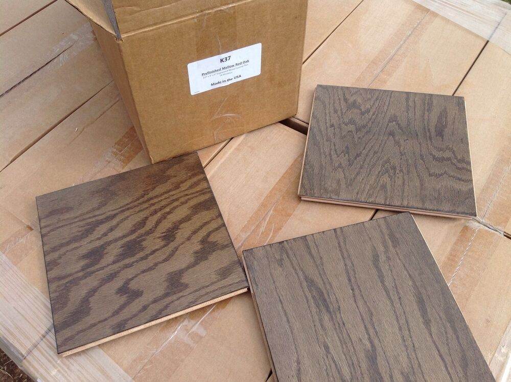 Prefinished Red Oak Engineered Wood Flooring 9 X 9