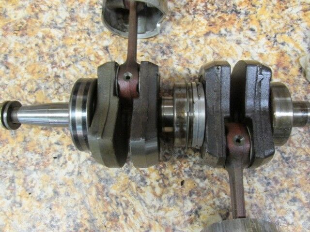 Mariner yamaha outboard 30 hp crankshaft assembly 9068m ebay for 30 hp yamaha outboard