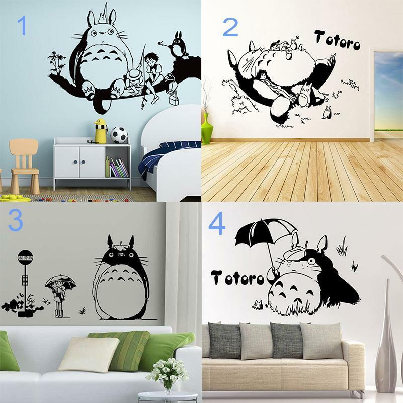 anime my neighbor totoro wall stick wall decal for bedroom living room