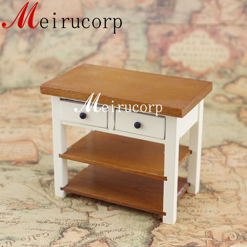 Fine 1 12 Scale Miniature Furniture Well Made Wooden
