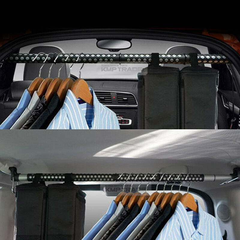 car interior door handle hanger clothing rod bar rack holder for all vehicle ebay. Black Bedroom Furniture Sets. Home Design Ideas
