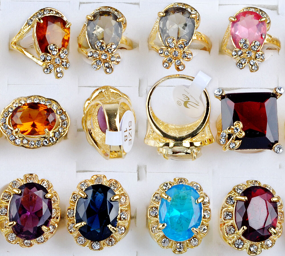 big lots wholesale jewelry lots 5pcs gold plated big 10104