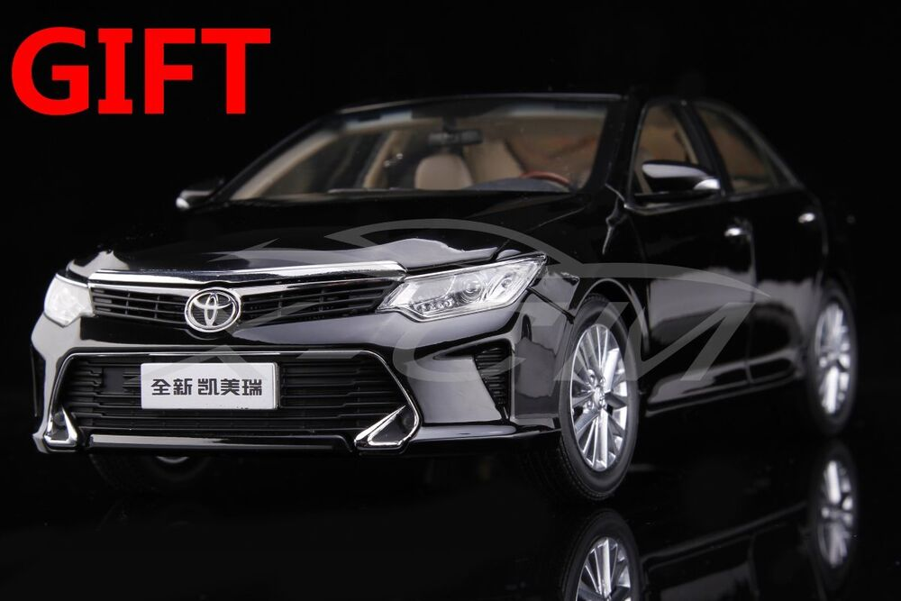 car model all new toyota camry 2015 1 18 black small. Black Bedroom Furniture Sets. Home Design Ideas