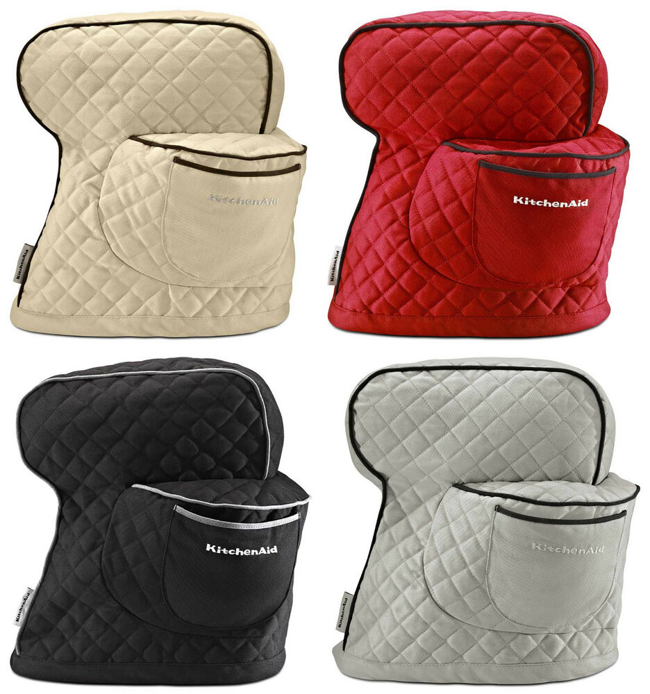 Kitchenaid Ksmcti Fitted Stand Mixer Cover 4 Colors Ebay truly Kitchen Aid Mixer Cover