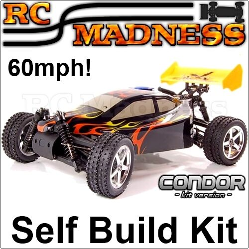nitro rc car buggy kit radio controlled condor self build petrol ebay. Black Bedroom Furniture Sets. Home Design Ideas