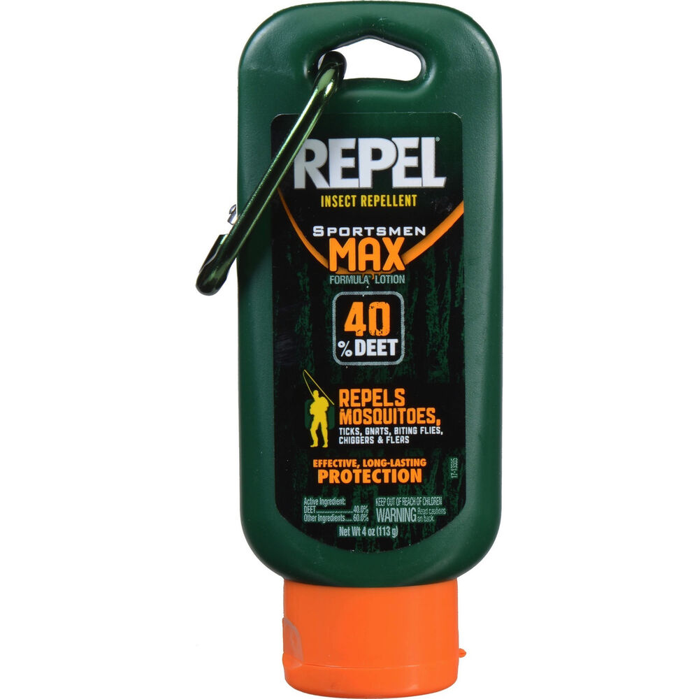 Repel Insect Repellent Sportsmen Max Formula Lotion 4oz 40