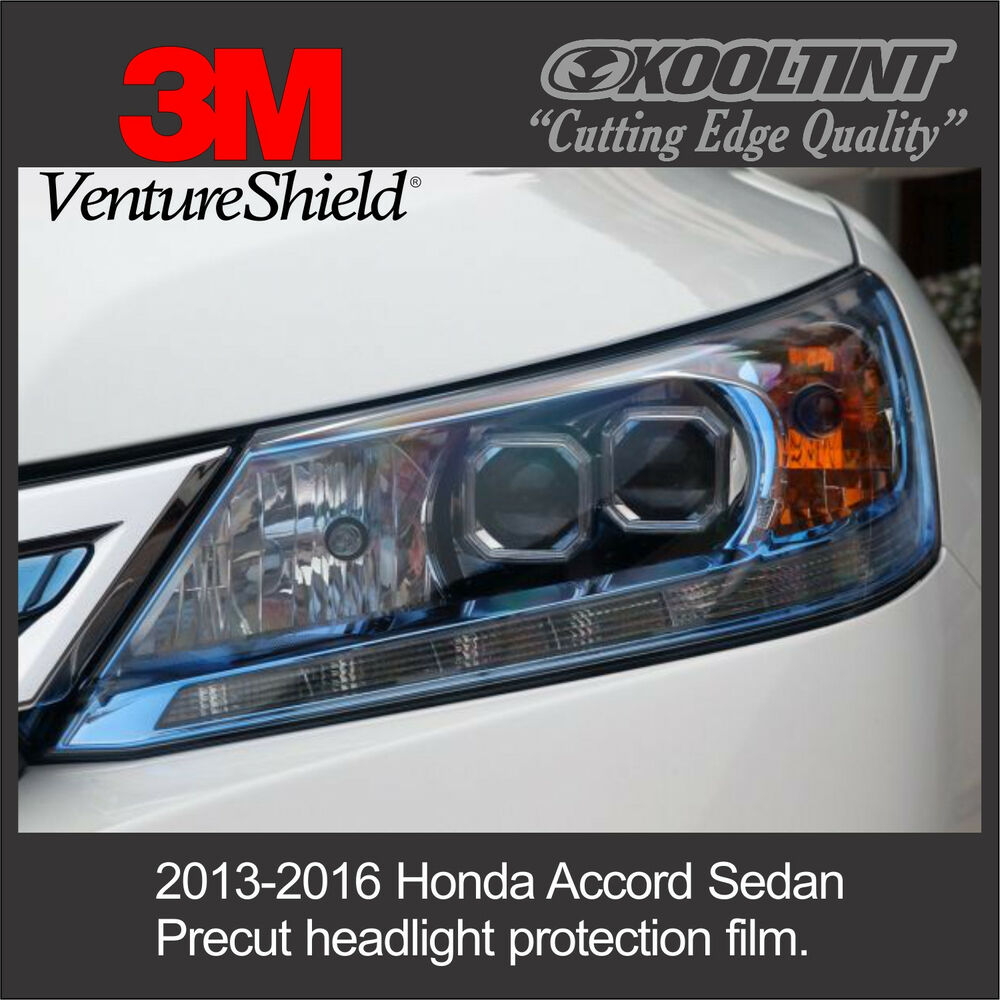 headlight protection film by 3m for 2016 honda accord halogen lights ebay. Black Bedroom Furniture Sets. Home Design Ideas