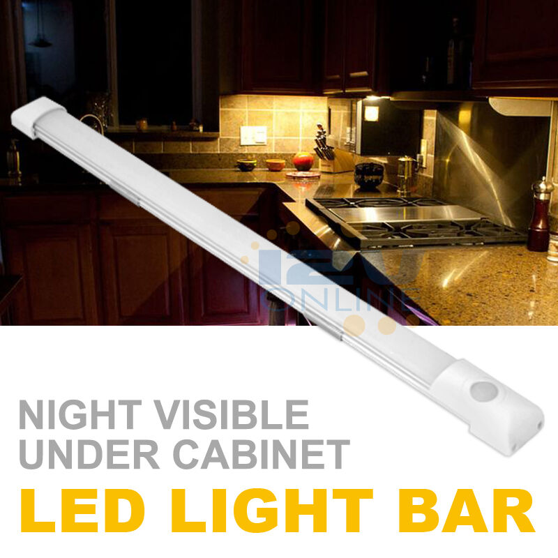 Kitchen Under Cabinet Strip Lighting: 12V LED Under Cabinet/Counter Strip Light RV Camper