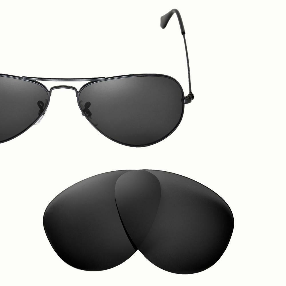 new cofery lenses for ray ban aviator rb3025 55mm. Black Bedroom Furniture Sets. Home Design Ideas