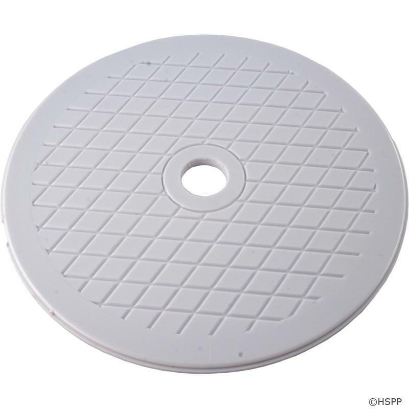 Pentair hydroskim pool spa skimmer lid white 513333 ebay - Swimming pool skimmer basket covers ...