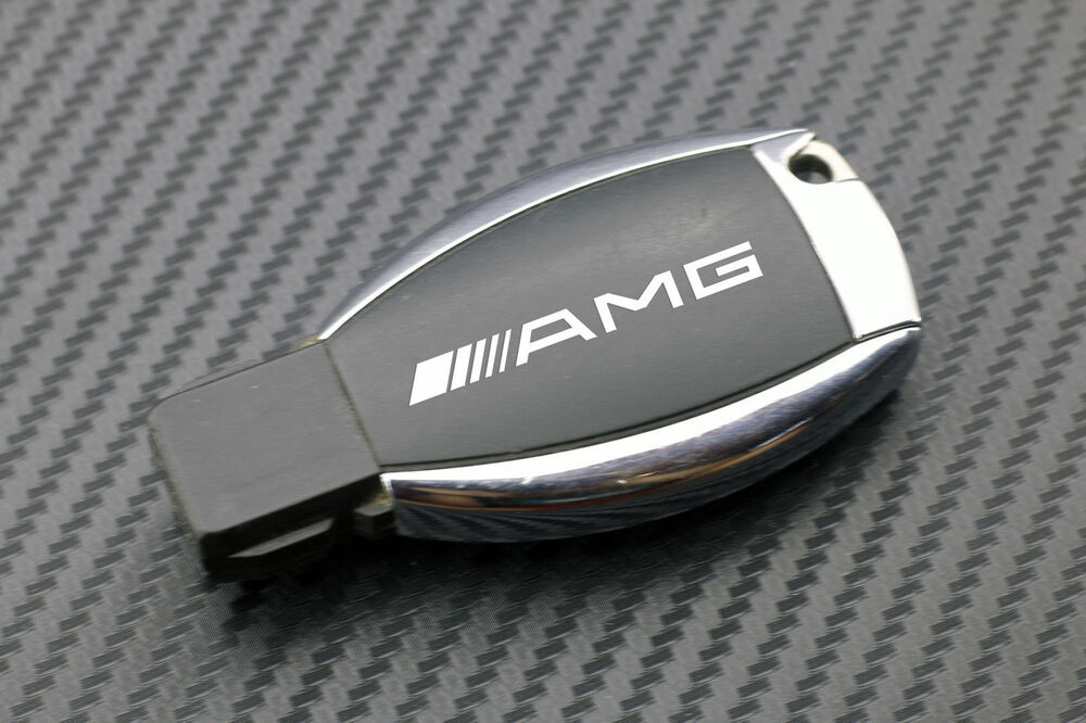 Mercedes benz key stickers amg keychain fob sl slk gl ml for Mercedes benz key fob