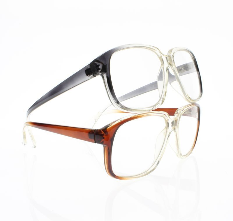 Unisex Large Oversize Gradual Change Frame Reading Reader ...