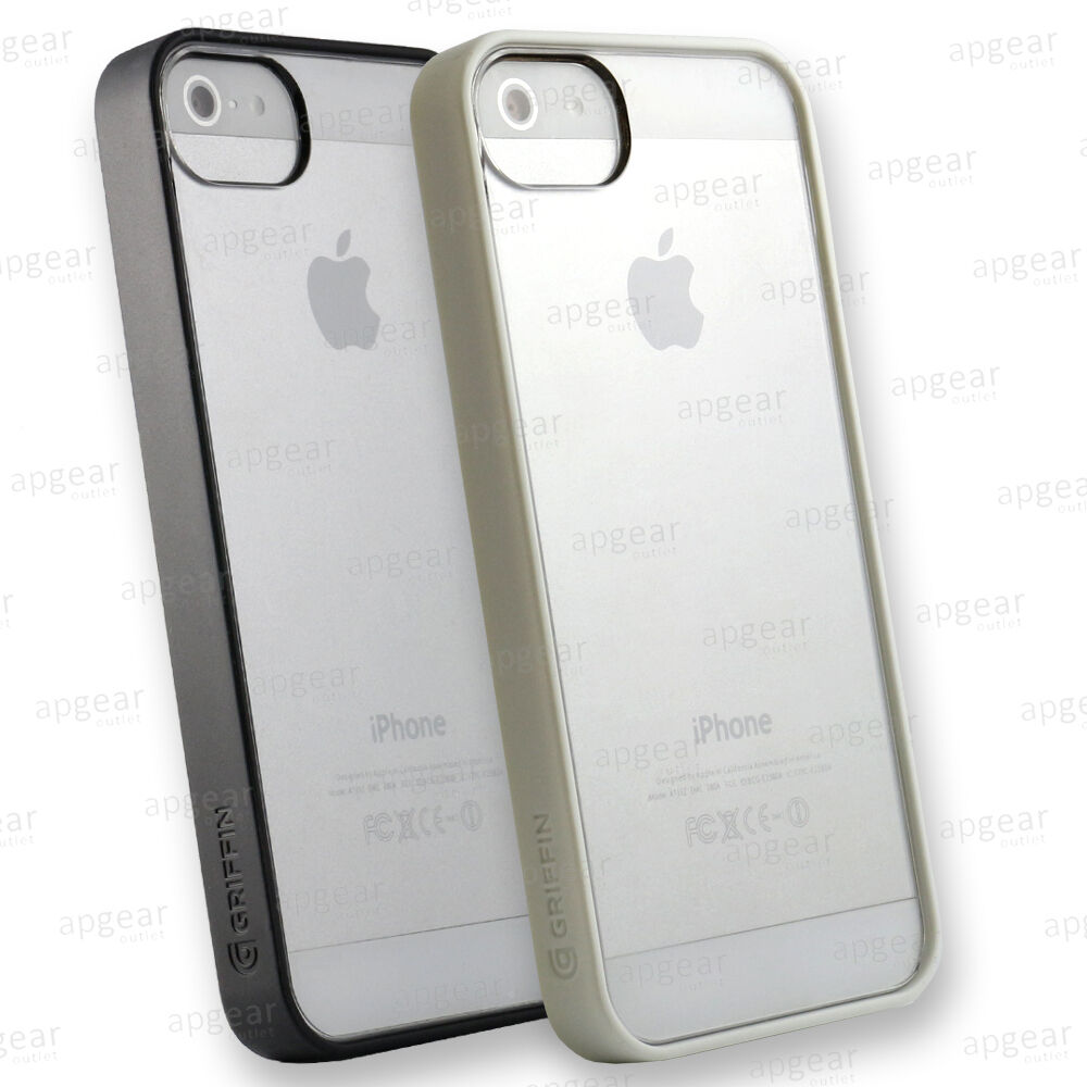 protective iphone 5s cases griffin reveal thin clear protective cover for iphone 3589