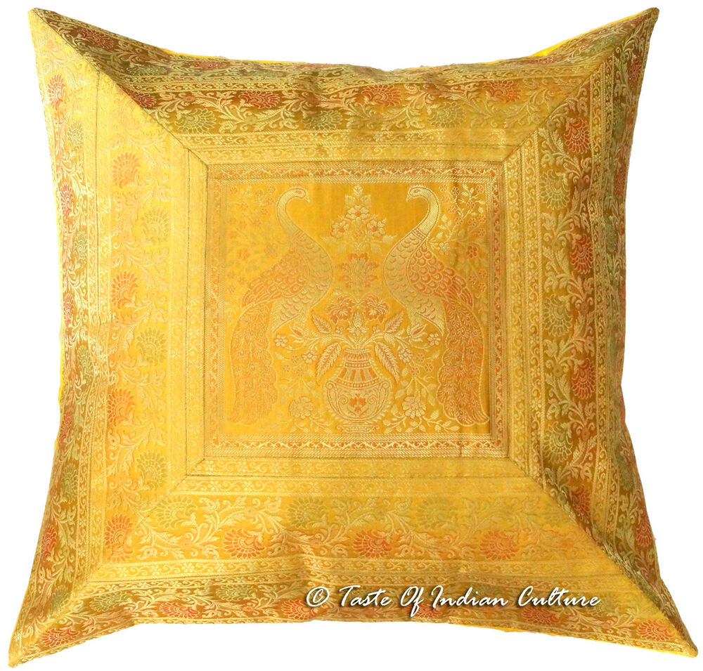 Gold Floor Pillows : X Large 26