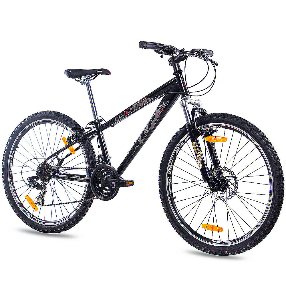 26 zoll mtb dirtbike mountainbike fahrrad kcp dirt one mit 21g shimano schwarz ebay. Black Bedroom Furniture Sets. Home Design Ideas