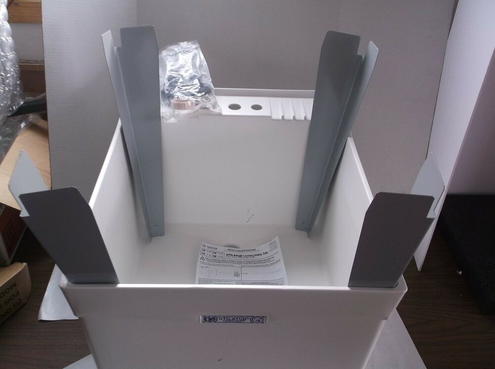 Mustee 19f Utility Sink Thermoplastic 24 In L I8t Ebay