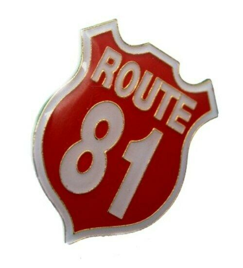 hells angels support 81 big red machine pin route 81 ebay. Black Bedroom Furniture Sets. Home Design Ideas