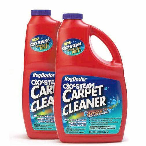 Rug Doctor Oxy-Steam 48 Oz. Carpet Cleaner Stains Remover