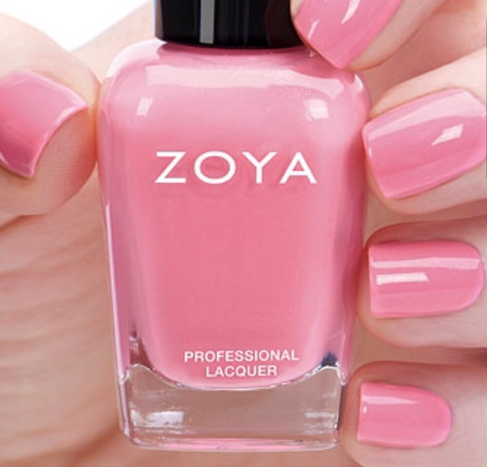 ZOYA ZP840 LAUREL Warm Pastel Pink Nail Polish PETALS Collection 5 Oz NEW 765011035709
