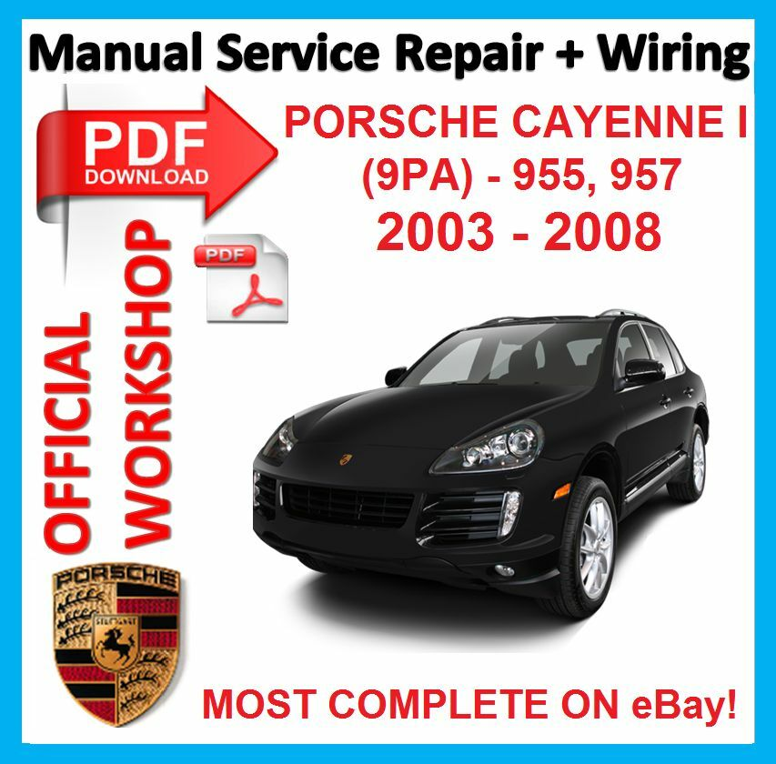 porsche cayenne workshop manual