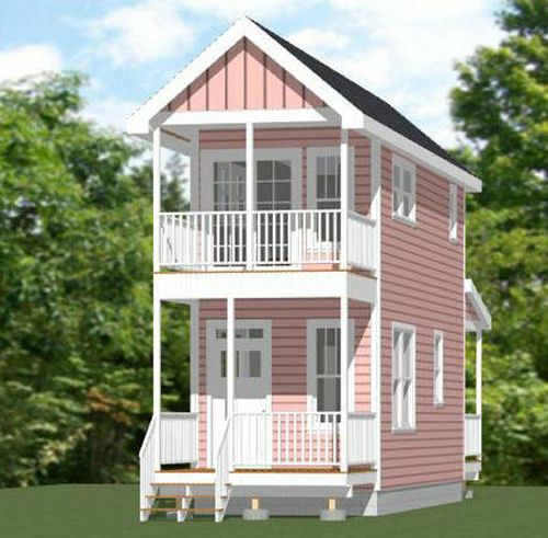 10x28 Tiny House 475 Sq Ft Pdf Floor Plan Model 3