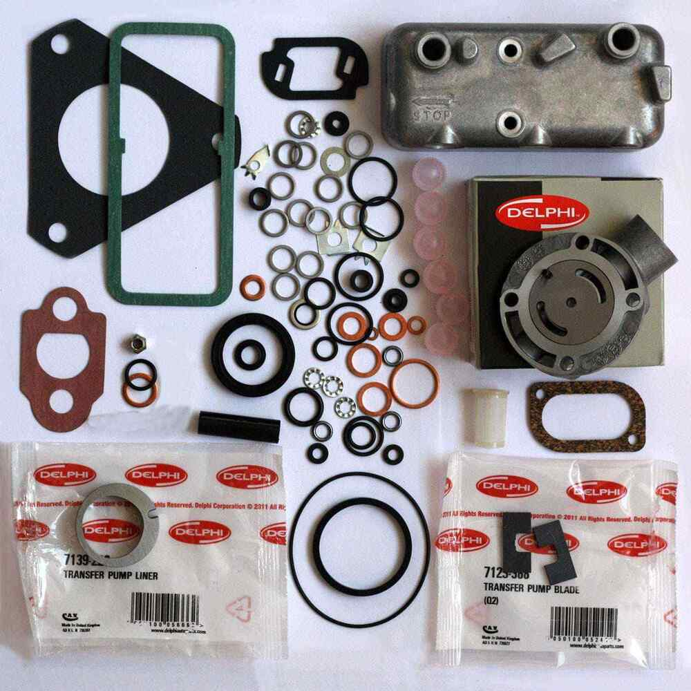 overhaul diesel injection pump rebuild kit delphi tractor cav oem lucas genuine ebay. Black Bedroom Furniture Sets. Home Design Ideas