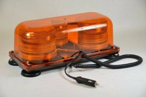 Tractor Amber Safety Lights : V vdc magnetic safety construction security