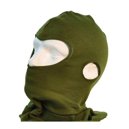 img-BRITISH ARMY BALACLAVA - OLIVE GREEN - THERMAL - NEW - FR AFV CREW - FISHING