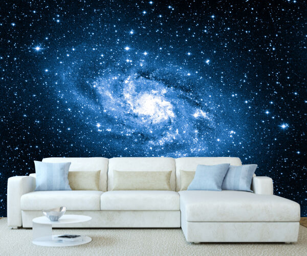 Space galaxy milky way wall mural photo wallpaper picture for Space wallpaper mural