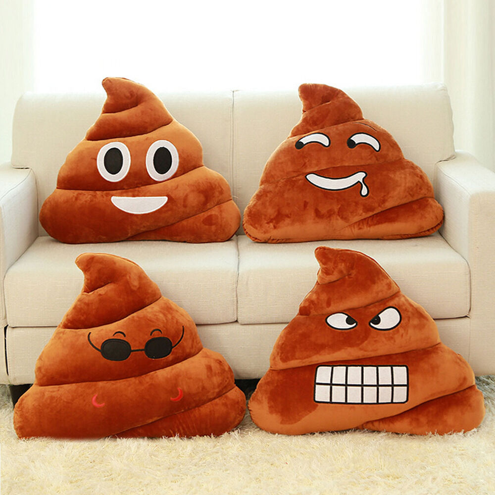 New 25cm Emoji Emoticon Poop Cushion Plush Soft Stuffed  : s l1000 from www.ebay.com size 1000 x 1000 jpeg 146kB