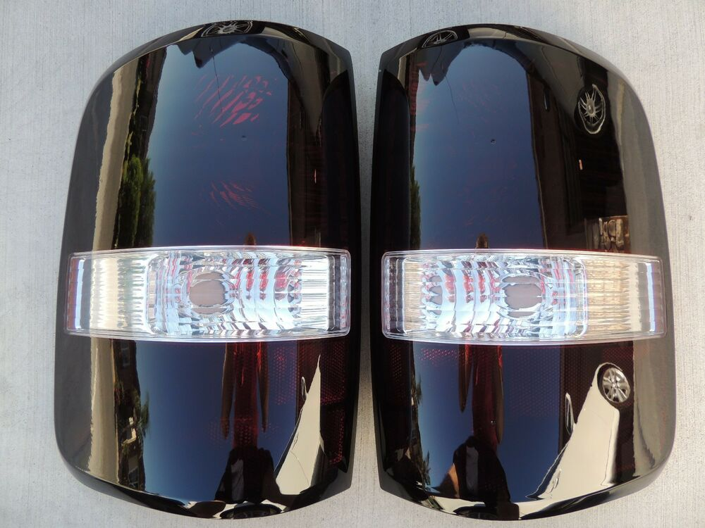 F150 Custom Parts >> CUSTOM! 04-08 F150 Smoked Tail Lights OEM Black Tinted Non led Styleside Painted | eBay