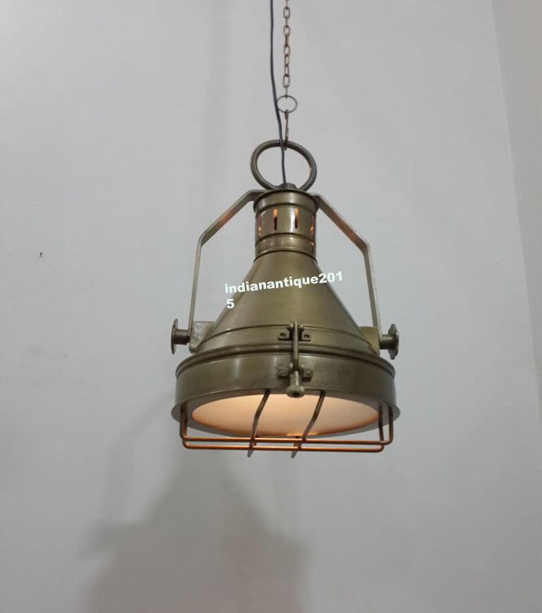 Retro Antique Brass Ceiling Pendant Light Pub Restaurant Home Decor Lamp Ebay