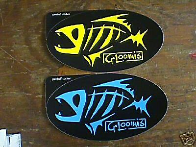 Stickers g loomis - G Loomis Decal Sticker Black Amp Yellow Or Blk Blue 3 Pack