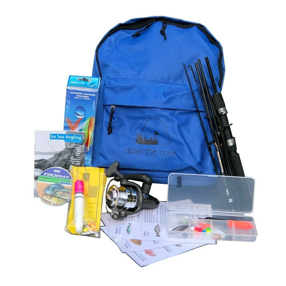 Complete travelmaster 6ft holiday travel fishing kit with for Ebay fishing gear