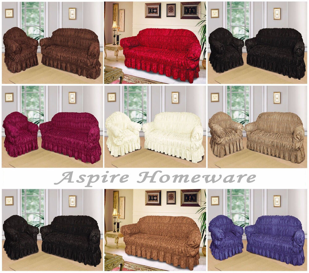 Large Jacquard Sofa Covers Settee Arm Chair Pet Protector ...