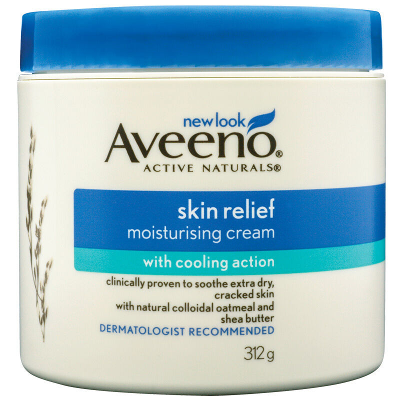 Aveeno Skin Relief Moisturising Cream with Cooling Action 312g  | eBay