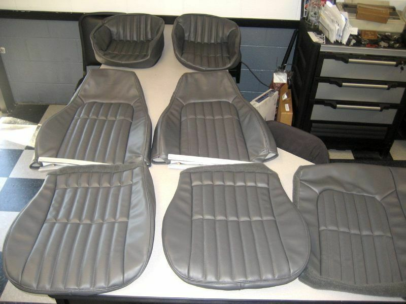 1997 1999 chevy camaro ss z28 medium gray leathr seat covers doorpanel inserts ebay. Black Bedroom Furniture Sets. Home Design Ideas