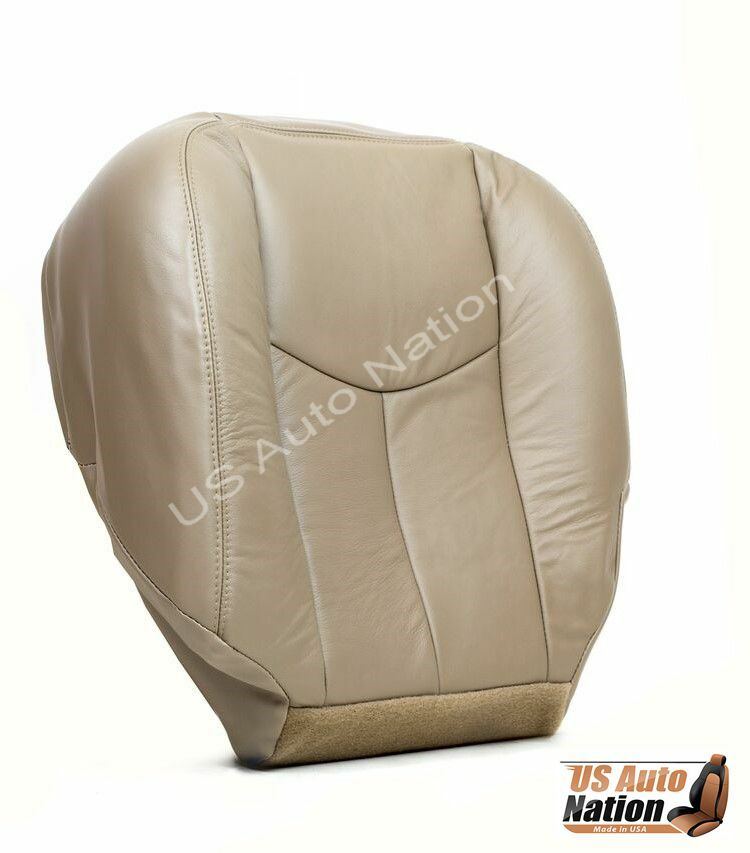 2005 2006 chevy silverado lt ls z71 front driver bottom leather seat cover tan ebay. Black Bedroom Furniture Sets. Home Design Ideas
