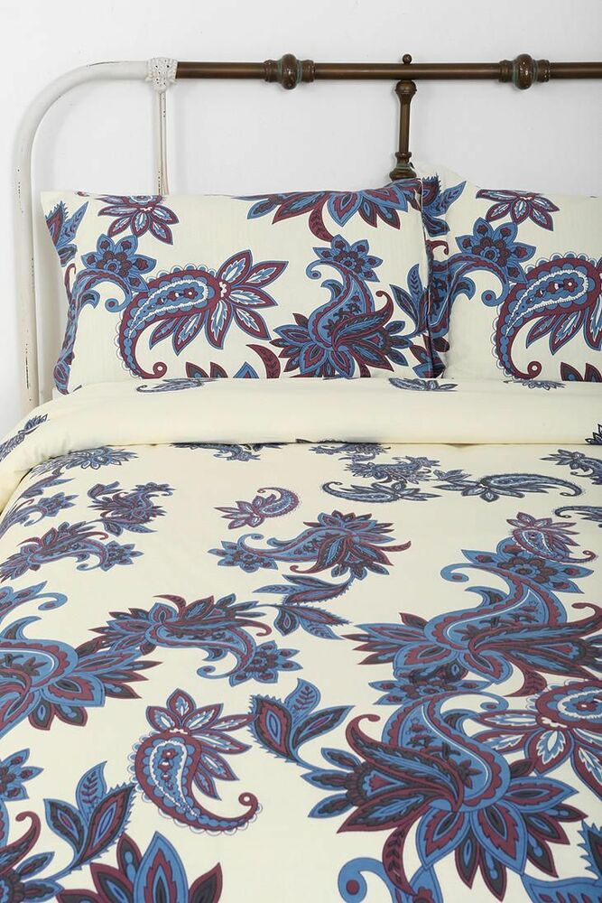 Magical Thinking Urban Outfitters Paisley Blossom Duvet