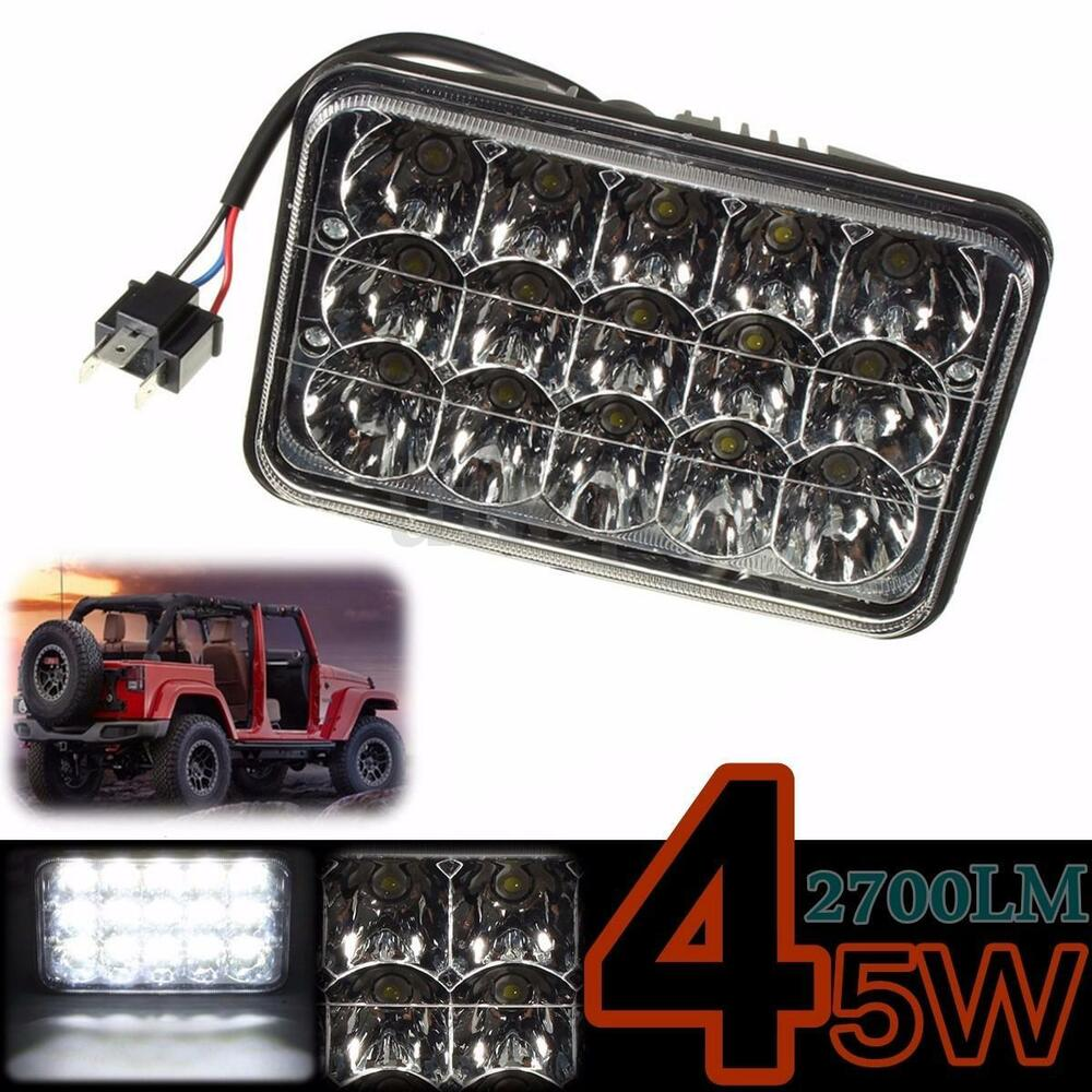 Led Headlights Sealed Beam Tractor : X  w led bulb clear crystal sealed beam working