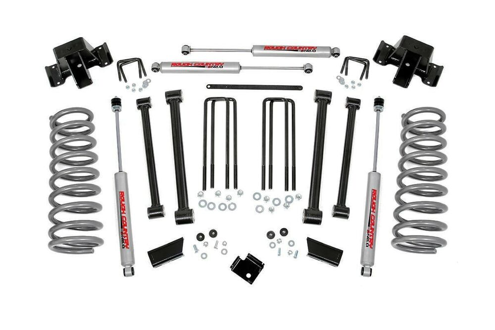 dodge ram 2500 3 u0026quot  suspension lift kit 94
