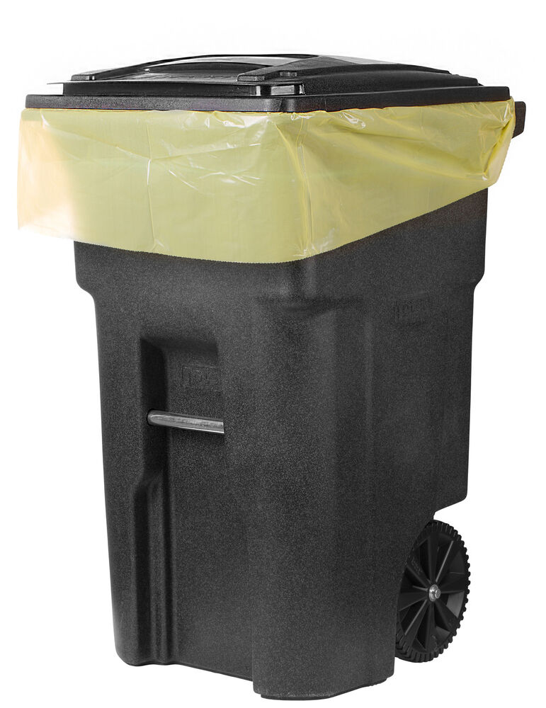 Plasticplace 64 Gallon Toter 174 Compatible Trash Bags Mpn