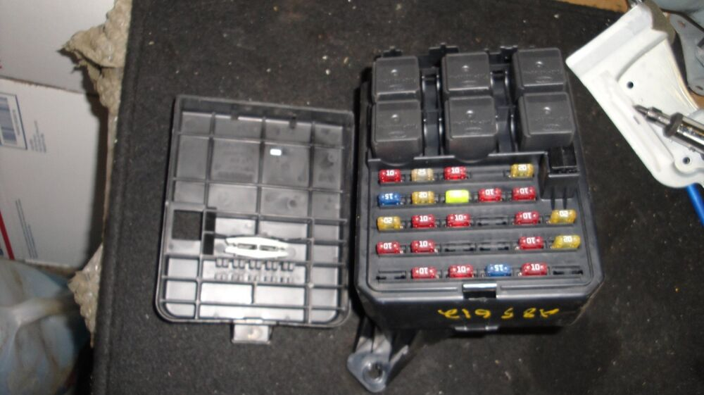00 01 02 03 ford windstar fuse box panel yf2t 14a067 aa ebay layout for 2001 expedition fuse box
