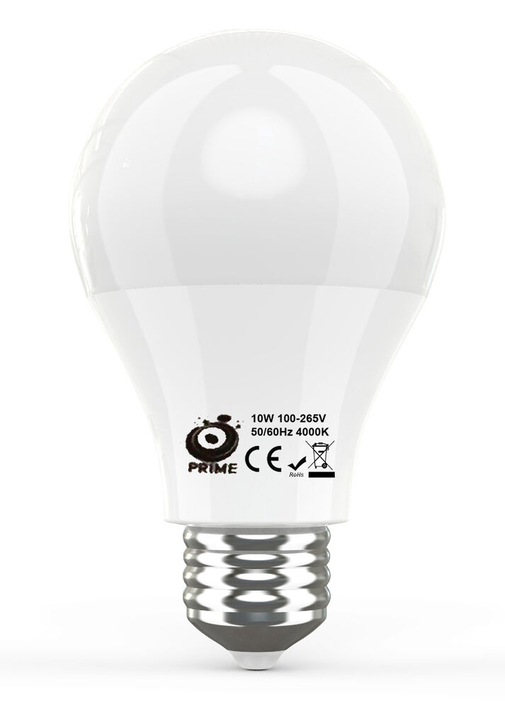 Prime A19 10 Watt Led Bulbs Equivalent To 75 Watt Incandescent Bulb Brand New Ebay