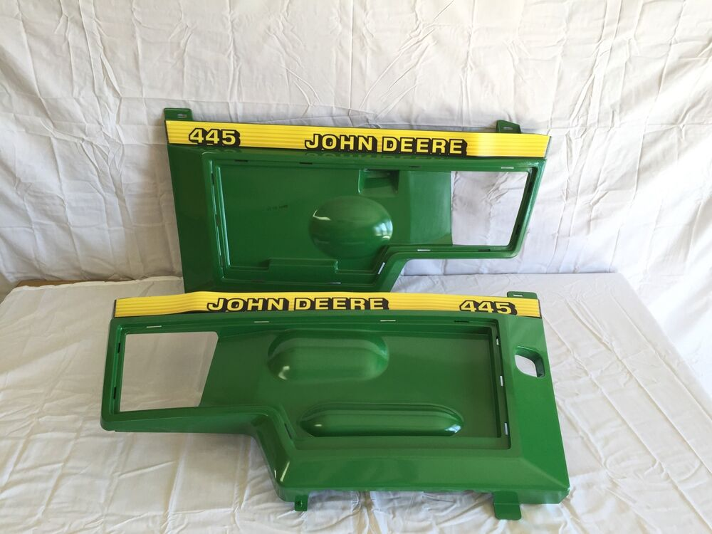 John Deere Side Panels : John deere side panels and decals for serial s above